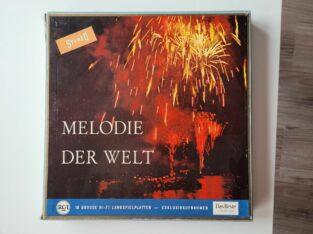 Melodien der Welt – 10 Schallplatten