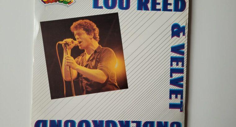 Lou Reed Schallplatte mit Bildband