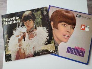 2 Mireille Mathieu LPs