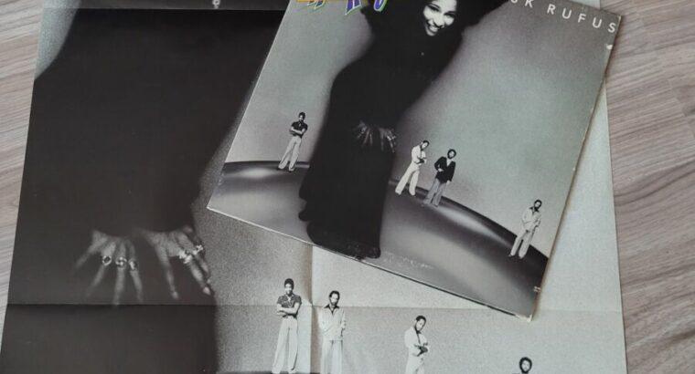 Chaka Khan LP mit Poster