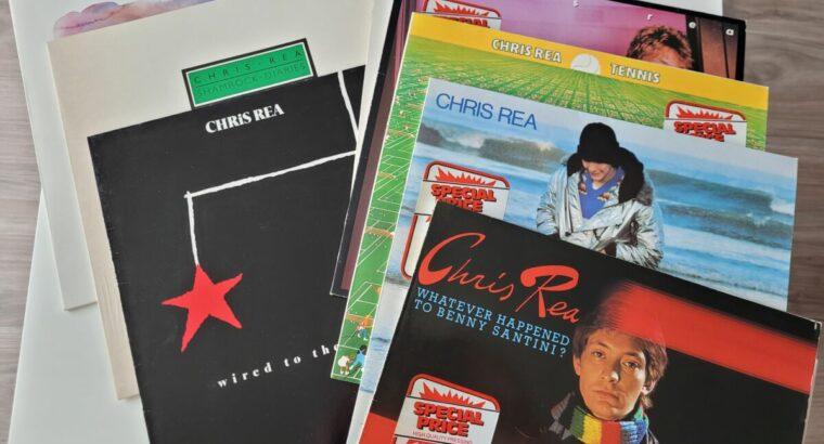 Chris Rea 8 LPs