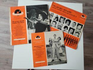 3 LPs 50er / 60er Jahre Nostalgie!