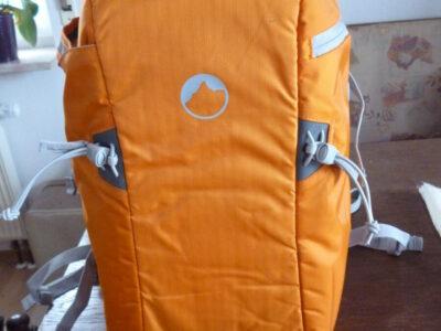 Fotorucksack Lowepro Flipside Sport orange, Top Zustand