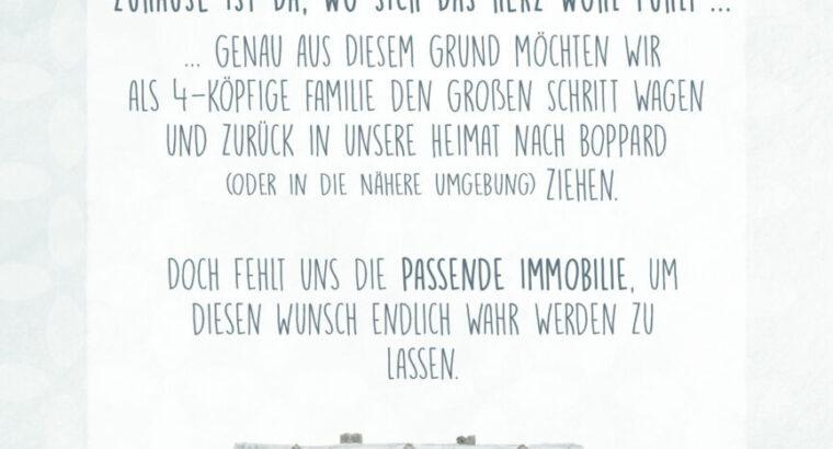 ZUHAUSE GESUCHT